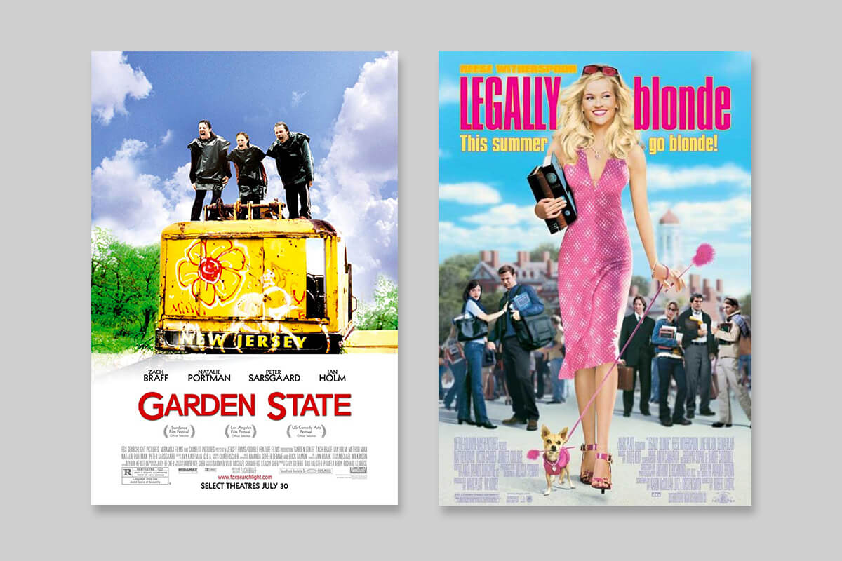 Garden State vs. Legally Blonde