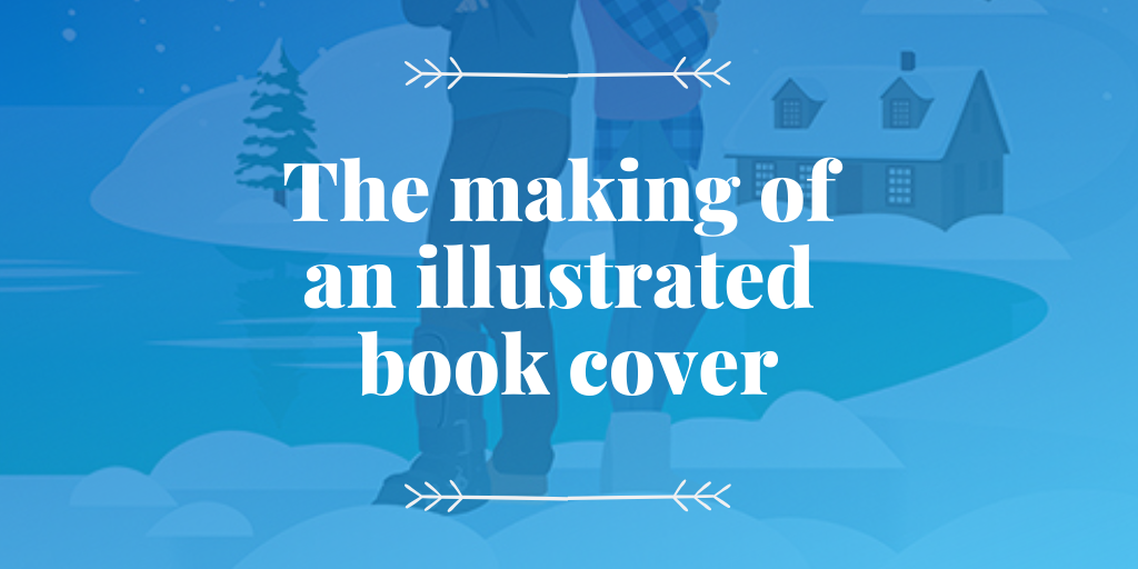 The making of an illustrated book cover