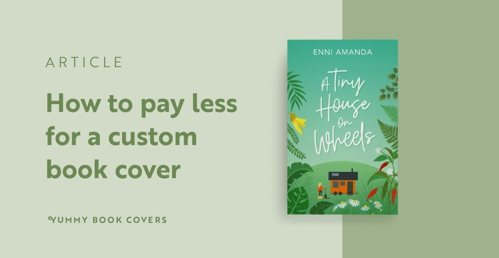 How to pay less for a custom book cover