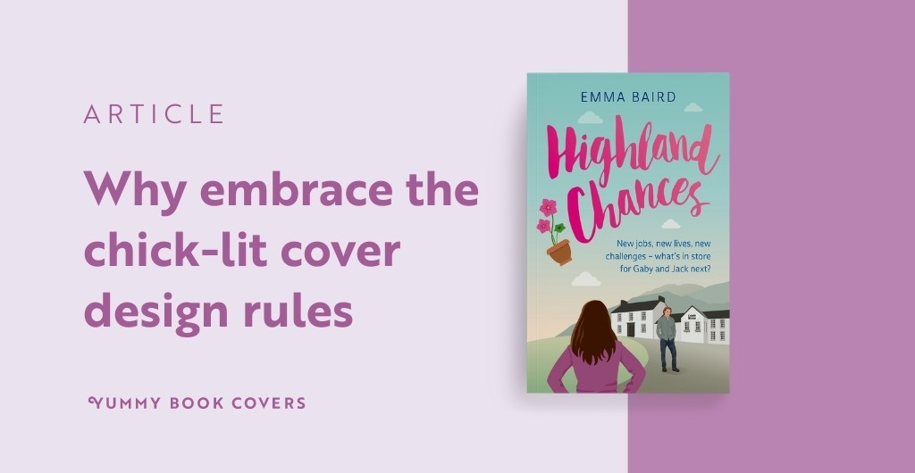 Why Embrace the Chick-lit Cover Design Rules