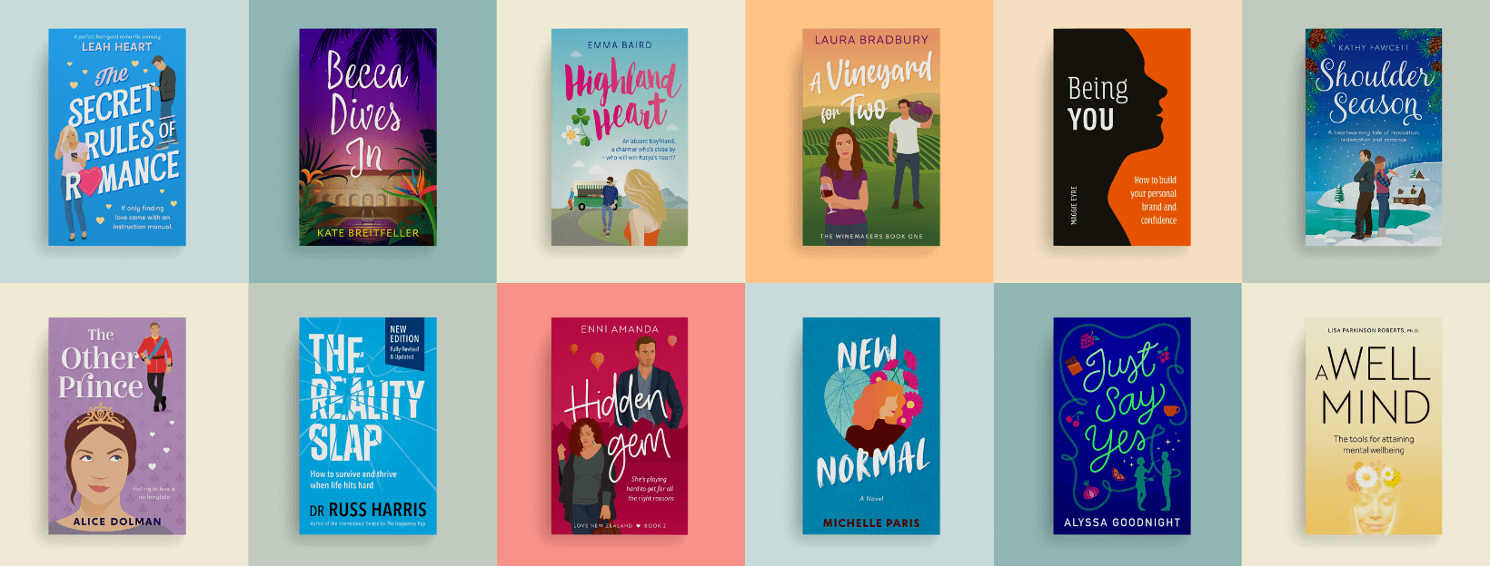 Book covers portfolio sample